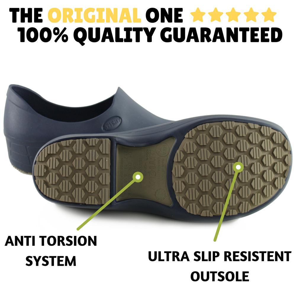 non slip shoes electro white keepnursing