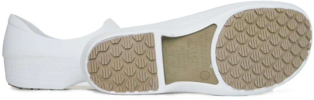 a7e264c54612 Slip-resistant Waterproof Nursing Shoes Electro Heart - White ...
