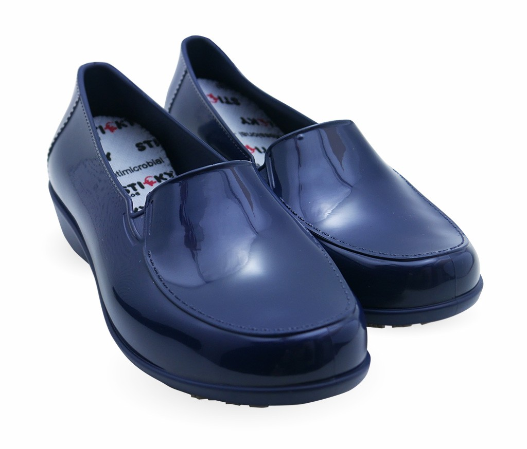 97b471142e2 More Views. Sticky Slip Resistant Shoes for Women - Comfortable Work Shoes  - Waterproof - ClassicPro Loafers ...