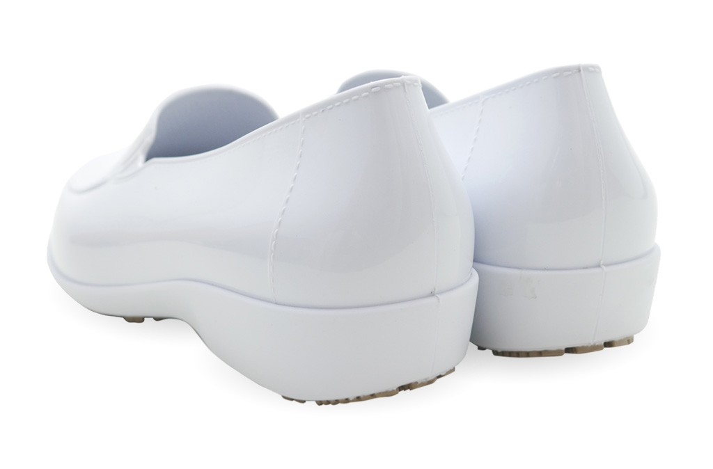 23f9601c164 More Views. Sticky Slip Resistant Shoes for Women - Comfortable Work Shoes  - ClassicPro Loafers - White ...