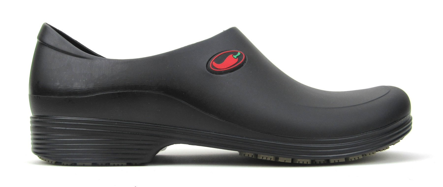 Non-Slip Chef Shoes for Men- Black with Red Pepper