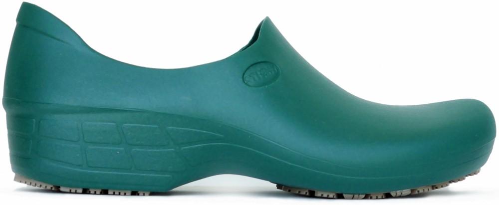 Non-Slip Shoes - Dark Green