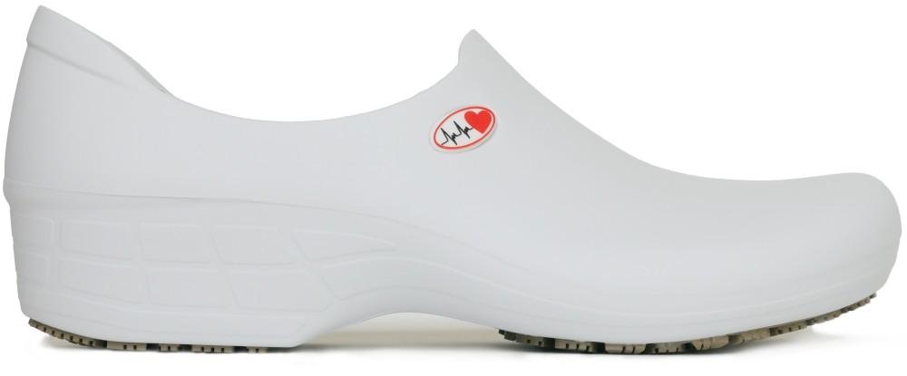 Non-Slip Shoes Electro Heart - White