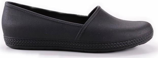 Milena Slip On Flat - Black