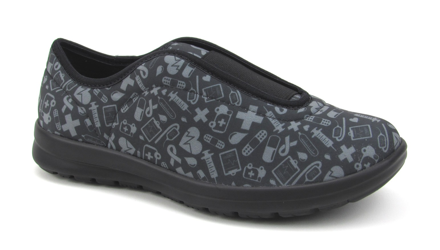Florence Move - Black with Gray Hospital Icons
