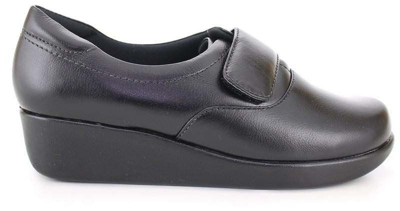 Nurse Shoes Leather Neftali 4203 - Black Keep Nursing