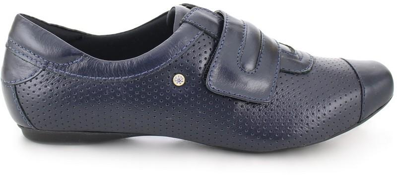 Leather Velcro Shoes 2055 - Blue KeepNursing