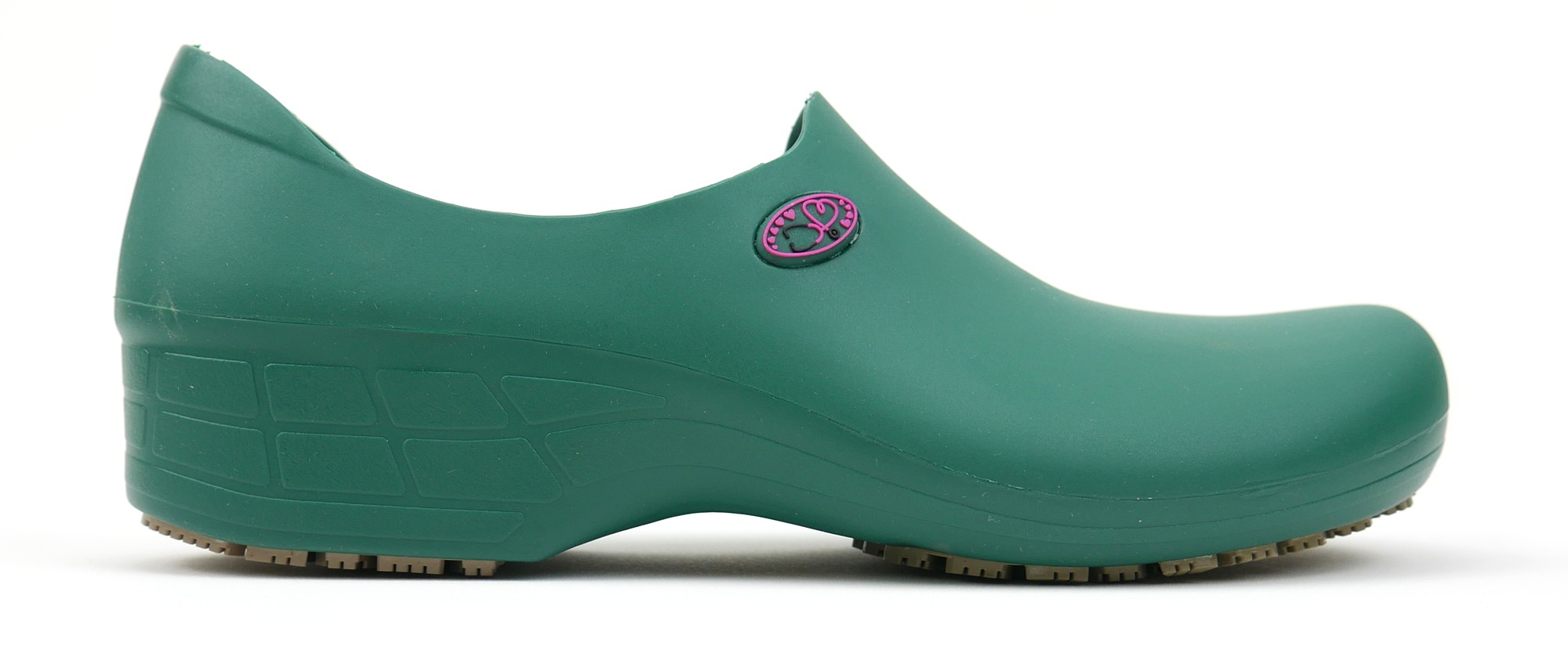 Non-Slip StickyPRO Shoes Stetho Love - Dark Green/Pink