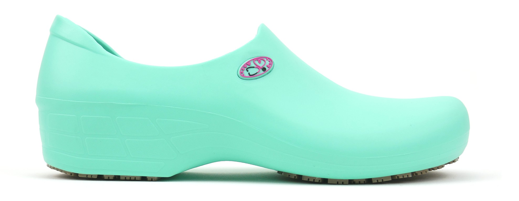 Non-Slip STICKY Shoes Stetho Love - Light Green/Pink
