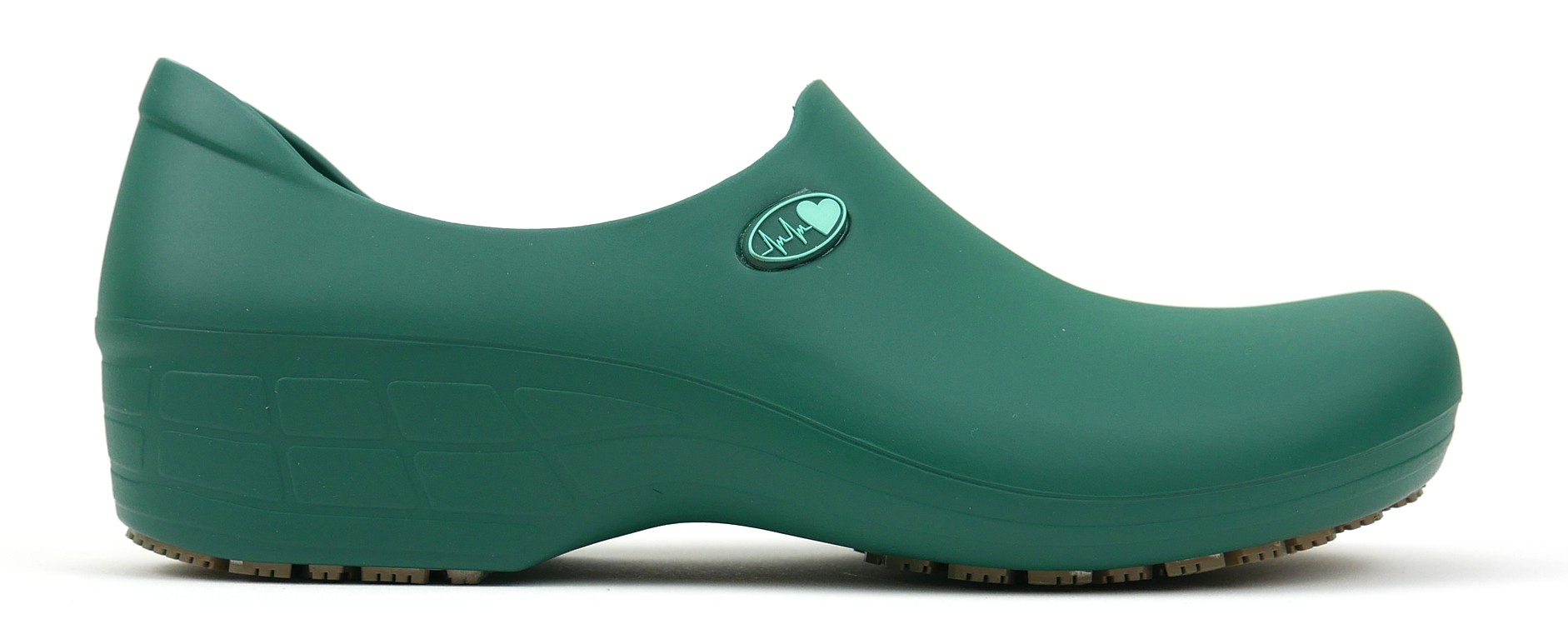 Non-Slip StickyPRO Shoes Electro Heart - Dark Green