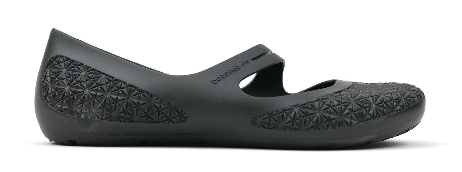 Sense Eco Slip On Flat - Black