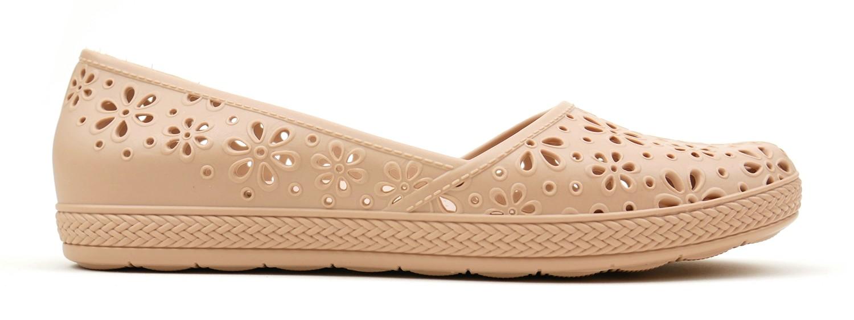 Monica Eco Slip On Flat - Light Pink