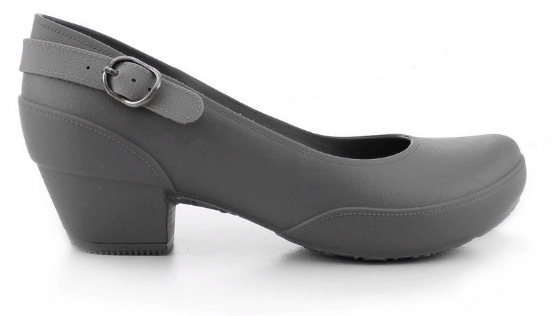 Women's Galicia Mary Jane Pumps- Comfortable Heels - Light Gray