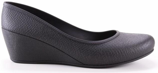 Women's Caren Comfortable Wedge Heels - Black