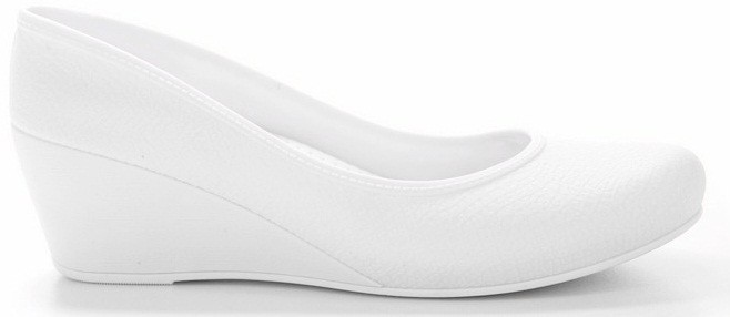 Women's Caren Comfortable Wedge Heels - White