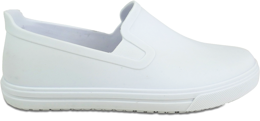 Women's Professional Slip On Canvas Shoes with extra comfort- White
