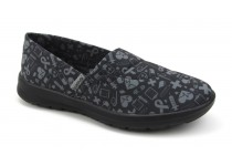 Florence Ocean - Black with Gray Hospital Icons