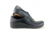 Man non-slip STICKY shoes whit toe cap - white - black