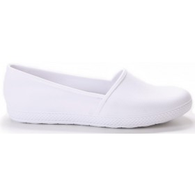 Milena Slip On Flat - White