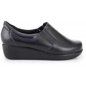 Light Work Leather Shoe 4201 - Black