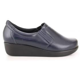 Light Work Leather Shoe 4201 - Blue