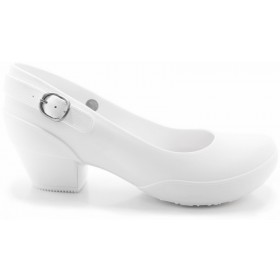 Women's Galicia Mary Jane Pumps- Comfortable Heels- White