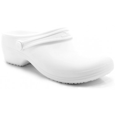 Boaonda Bio - Nursing Clogs for Women - White