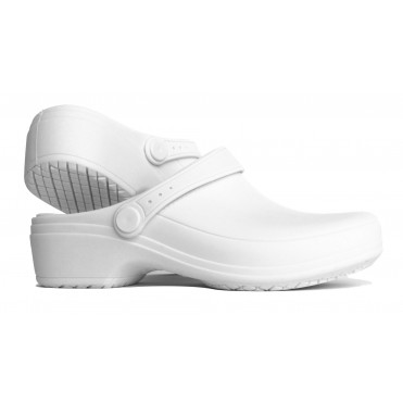 Line Nurse Clogs- White
