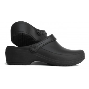 Line Nurse Clogs- Black