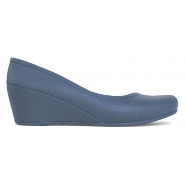 Women's Caren Comfortable Wedge Heels - Blue