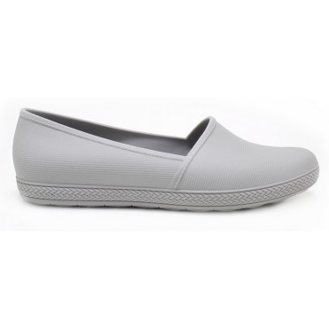 Milena Slip On Flat - Gray