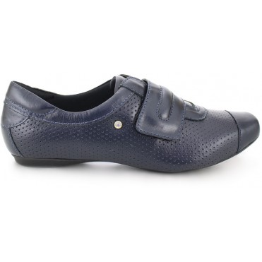 Leather Velcro Shoes 2055 - Blue KeepNursing