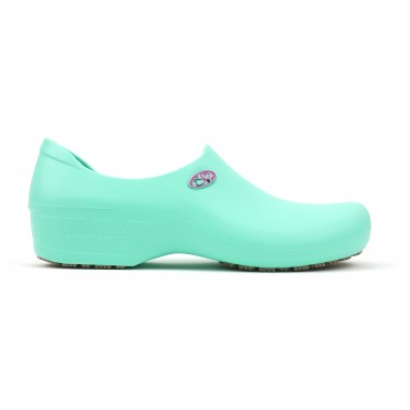 Non-Slip STICKY Shoes Stetho Love - Light Green/Pink