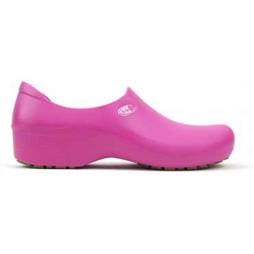 Non-Slip STICKY Shoes Electro Heart - Pink
