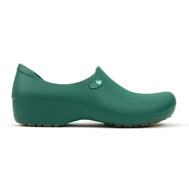 Non-Slip STICKY Shoes Electro Heart - Dark Green