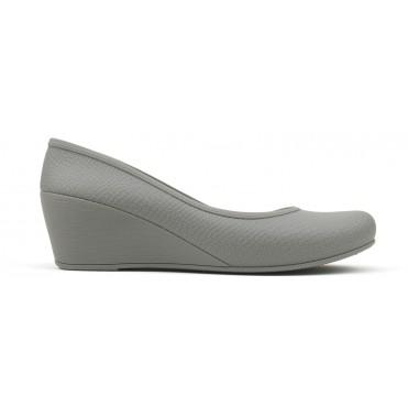 Women's Caren Comfortable Wedge Heels - Light Gray