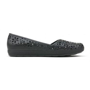 Monica Eco Slip On Flat - Black