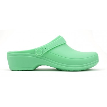 Line Nurse Clogs- Light Green