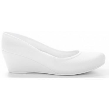 Women's Caren Comfortable Wedge Heels - White