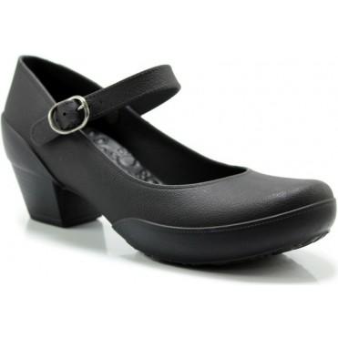 Women's Galicia Mary Jane Pumps- Comfortable Heels - Black