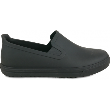 Women's Professional Slip On Canvas Shoes with extra comfort- Black