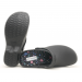 Boaonda Bio - Nursing Clogs for Women - Black with printed insole - Colorful Hospital Icons