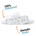 Boaonda Bio - Nursing Clogs for Women - White with printed insole - Stetho Love