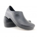 Man non-slip STICKY shoes whit toe cap - white - black