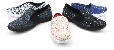 Printed Nursing Shoes